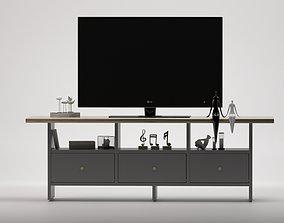 filling TV Stand SET LG 3D model