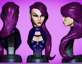 Campbells Psylocke Bust 3D printable model