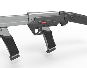 3D Blaster rifle from the movie Lost in space 1998