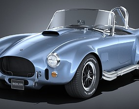 LowPoly Shelby Cobra 427 1965 3D model