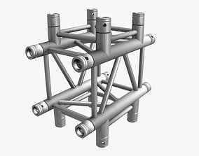 Square Truss Cross and T- Junction 31 3D