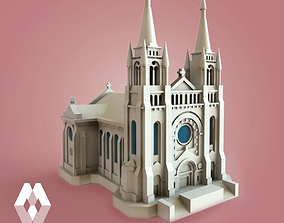 3D Sioux Falls Cathedral - South Dakota