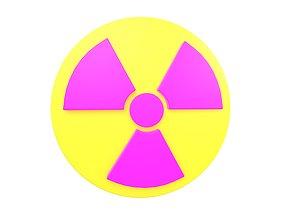 3D model Radiation Symbol v1 003