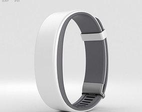 3D Sony Smartband 2 White