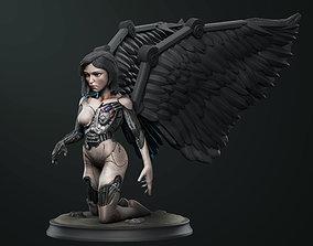 3D printable model Alita Battle angel statue