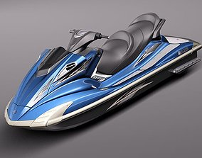 3D Yamaha FX HO 2011