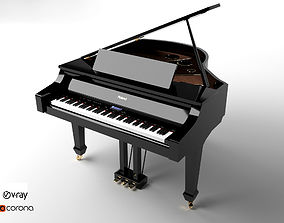 Roland Grand Piano 3D model