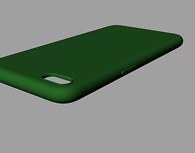 Iphone 8plus green case 3D model