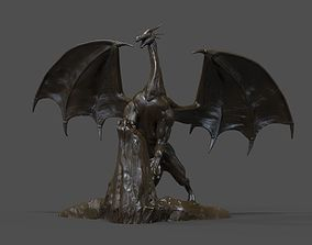 Dragon Statue 3D print model fashion-challenge