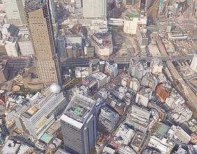 3D asset Realistic city