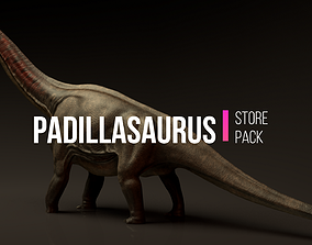 animated Padillasaurus Asset Pack