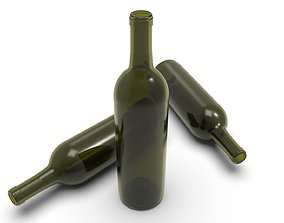 3D print model Wine bottle