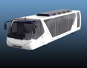 3D model Neoplan airliner airport apron bus