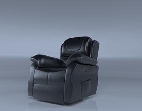 3D model Recliner Sofa Single Low Poly