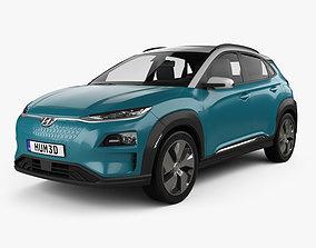 3D model Hyundai Kona Electric 2020