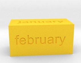 3D printable model Calendar1