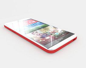3D model HTC Desire Eye Red