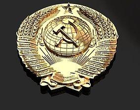 3D print model Emblem of the USSR