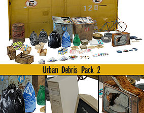 Urban Debris Pack 02 3D model