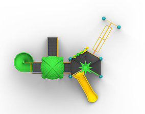 VR / AR ready High detailed 3D model playGround 1