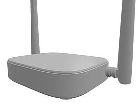 3D model Low Poly Wi-Fi Router Tenda N301