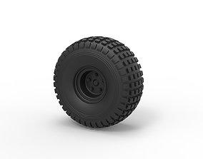Diecast Offroad wheel 18 3D printable model