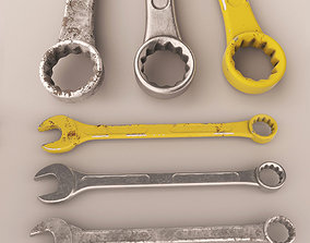 3D asset Wrench KEY 2