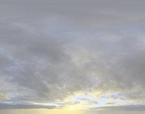 3D model Skydome HDRI - Sunset Clouds II