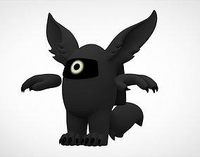 Among Us Black Werewolf 3D model