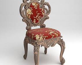 3D model Cornelio Cappellini Baroque Side Chair