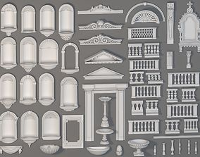 Exterior Decorations - 58 pieces 3D model