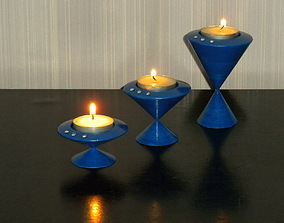 Modular Candle Holder 3D printable model
