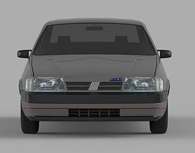 auto Fiat Tempra 1992 Low Poly Model