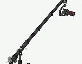 3D asset Camera Crane