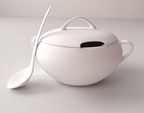 3D Soup Tureen