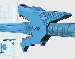 Power Rangers SPD shadow saber sword 3D printable model