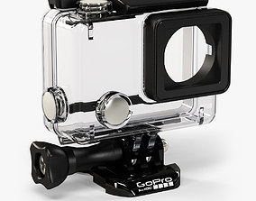 3D model GoPro HERO4 Waterproof Housing