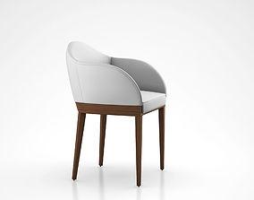 3D model Agata Chair by ALMA Design