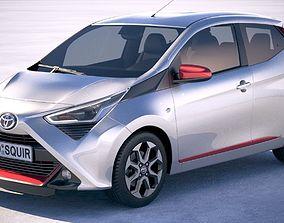 3D model Toyota Aygo 2019