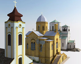 Small Churches 3D model