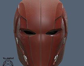 3D printable model injustice Red Hood Injustice 2 Helmet