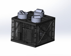 3D printable model Mirror of the satellite