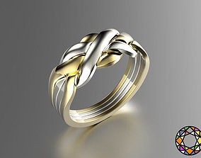 3D print model Puzzle ring 0071