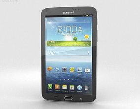 Samsung Galaxy Tab 3 7-inch Black 3D model