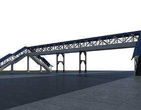 Pedestrian Overpass 3D