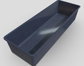 CC0 - Baking Tin 3D asset