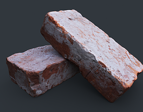 Brick 1 PBR Game Ready 3D asset