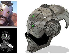 Bob s helmet 3D model for cosplay videogame
