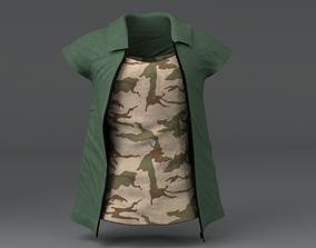 3D asset Clothing Set 4