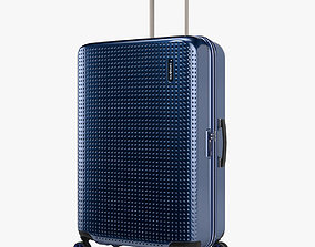 Samsonite Pixelon Suitcase 69cm blue 3D model